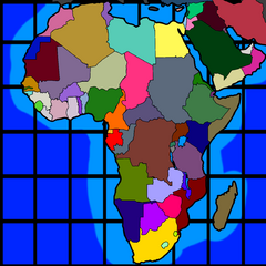 African Map by ASEAN Mapper