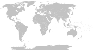 World Blank Map