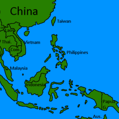 South East Asia!
