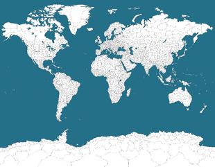 FandomFanUser2007's World Provinces Map 2019
