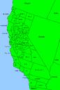 California County map
