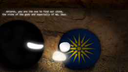 Antaros' First Encounter With Zeus
