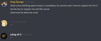 Spermcamp Respect