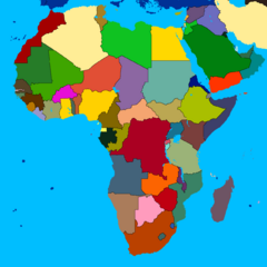 Africa (without names) by rectangularcatz mapper