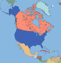 Detailed north america