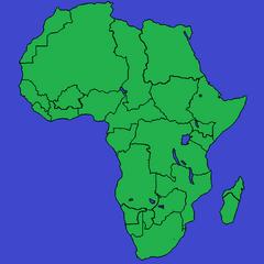 Mapa kolonji