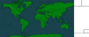 World Map by NATO mapping