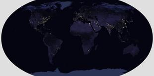 Robinson Lights Map