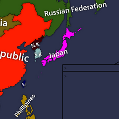 East Asia map by Skywalker Mapping