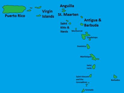 East Caribbean