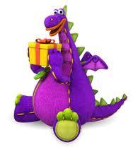 Image - Dibo holding a gift.jpg | Dibo The Gift Dragon Wiki ...