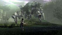 Phaedra procurando o Wander