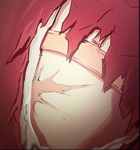 Eunju and her scar