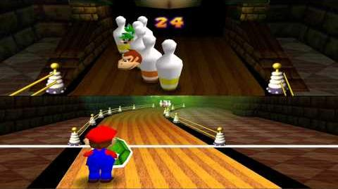 Mario Party 1 Bonus - Bowl Over Strike