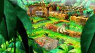 DK's Jungle Adventure Scene