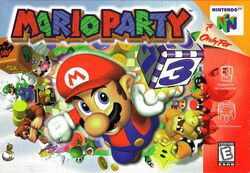 Mario Party Boxart (Front)