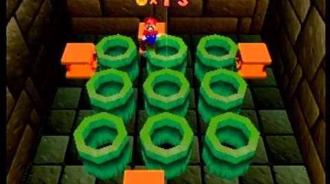 Mario Party- 1 Player Minigame - Whack-a-Plant
