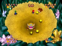 Mario Party 2 Quicksand Cache