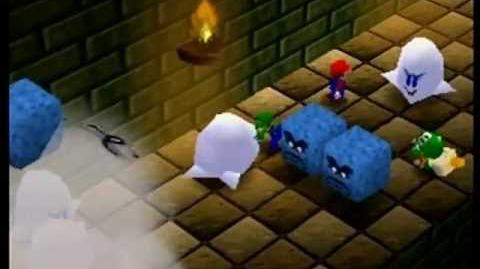 Mario Party- 4 Player Minigame - Running of the Bulb