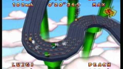 Mario Party 2 - Slot Car Derby