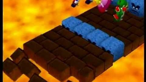 Mario Party 4 Player Minigame - Skateboard Scamper