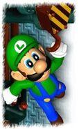Luigi Holding On