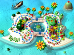 Yoshi's Tropical Island Map