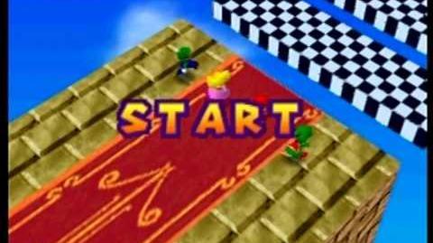 Mario Party- 4 Player Minigame - Platform Peril