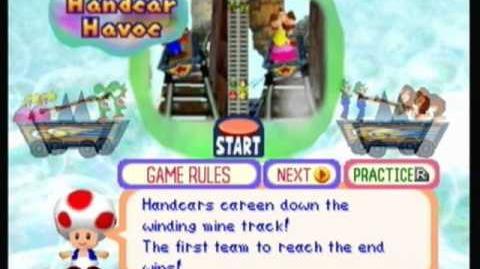 Mario Party 2 - Handcar Havoc