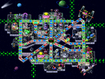 Space Land map