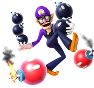 270px-Waluigi & Bob-ombs, Mario Party 9