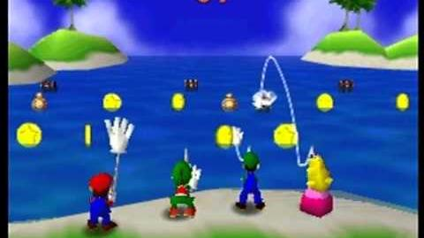 Mario Party- 4 Player Minigame - Cast Aways