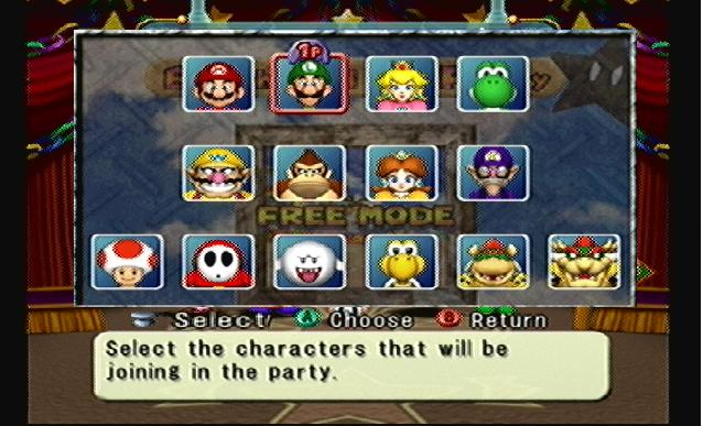 Mario party 4 mega character roster by adnintendogs-d4rq9cu