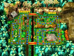 DK's Jungle Adventure Map