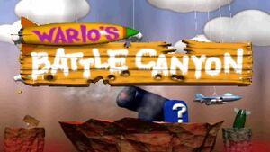 Wario's Battle Canyon Logo