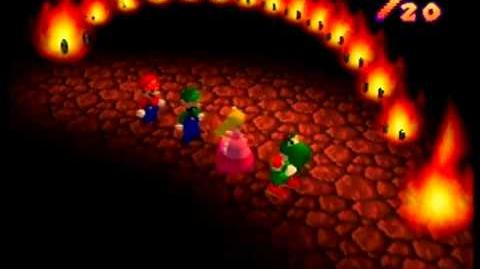 Mario Party- 4 Player Minigame - Hot Rope Jump