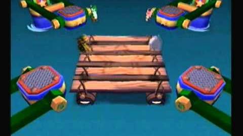 Mario Party 6 - Wrasslin' Rapids
