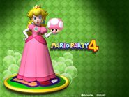 Princess peach mario party 4 wallpaper-1024x768
