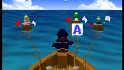 Mario Party- 4 Player Minigame - Shy Guy Says
