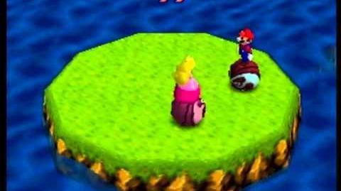 Mario Party- 4 Player Minigame - Bumper Balls