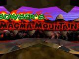 Bowser's Magma Mountain