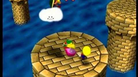 Mario Party- 4 Player Minigame - Hammer Drop