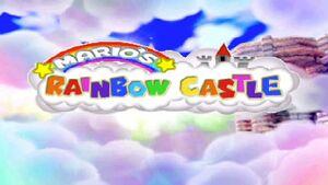 Mario's Rainbow Castle Logo
