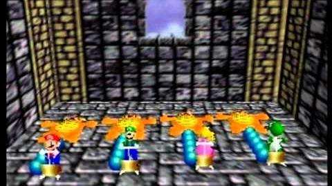 Mario Party- 4 Player Minigame - Balloon Burst