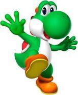 Mario Party DS Yoshi