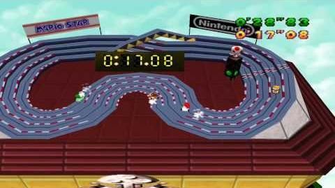 Mario Party 1 Mini Games - Slot Car Derby 2