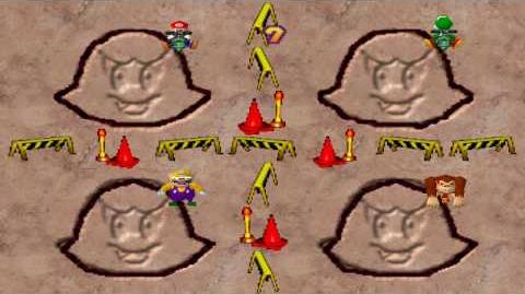 Mario Party 1 Mini Games - Crazy Cutter Boo