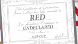 Red's diploma