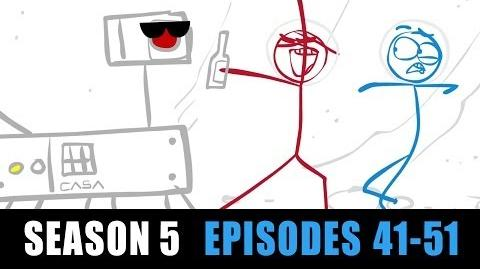 Dick Figures - Web Season 5 (Episodes 41-51)