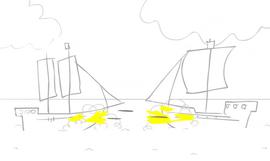 Battle of ships